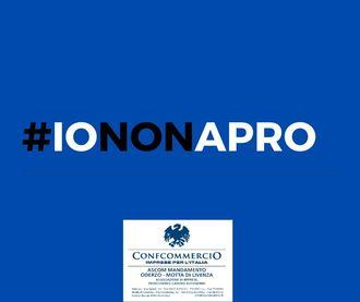CONFCOMMERCIO ODERZO- MOTTA DI LIVENZA DICE SI AL FLASHMOB #IONONAPRO
